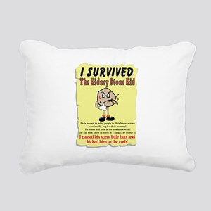 Kidney Stone Rectangular Canvas Pillow