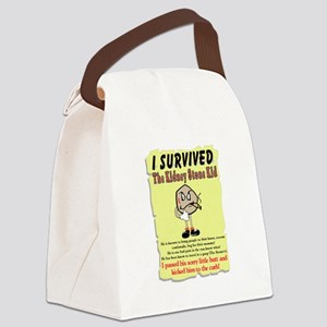 Kidney Stone Canvas Lunch Bag