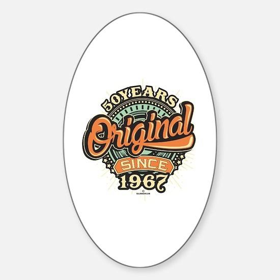Funny 1967 Sticker (Oval)