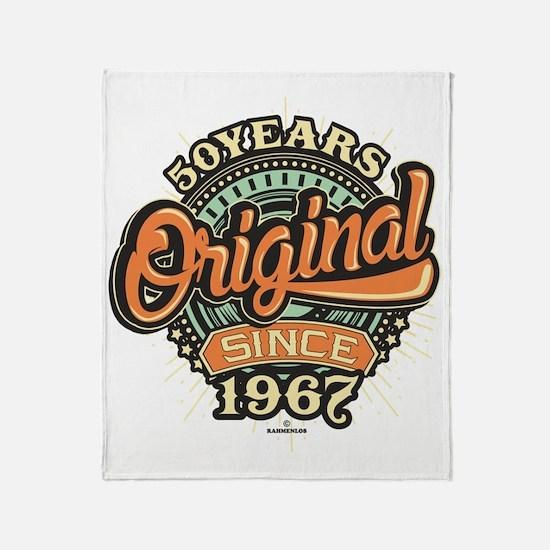 Cool 1967 pontiac gto Throw Blanket
