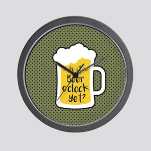 Beer Oclock Wall Clock