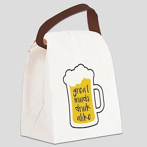 Beer - Drink Alike Canvas Lunch Bag