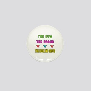 The Few, The Proud, The Highland Dance Mini Button