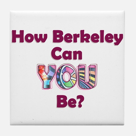 How Berkeley Tile Coaster