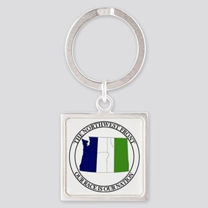 Nf With Tricolr Banner Keychains