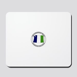 NF with Tricolr Banner Mousepad