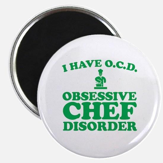 Chef baseball Magnet