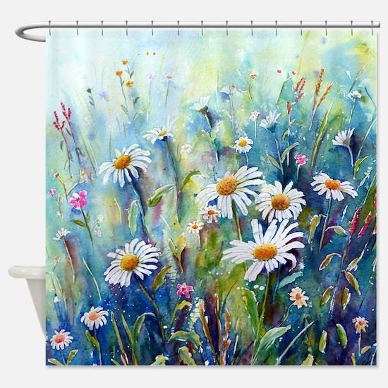 Unique Watercolour Shower Curtain