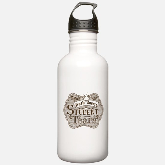 Teacher Student Tears Water Bottle
