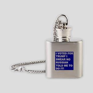 Trump I Swear Flask Necklace