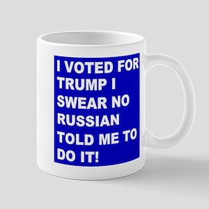 Trump I Swear Mug