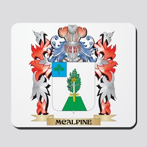 Mcalpine Coat of Arms - Family Crest Mousepad