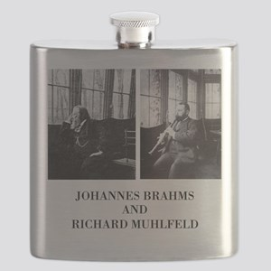 Clarinetist Richard Muhlfeld And Brahms Flask