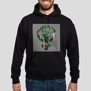 Feminist Symbol Earth Sweatshirt