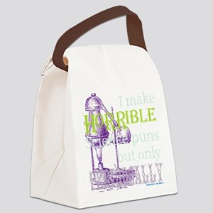 Science Pun Periodically Canvas Lunch Bag