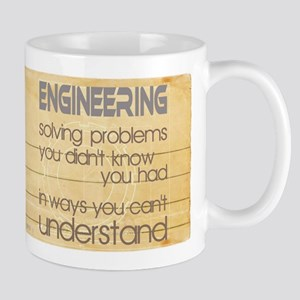 Engineering Solving Problems Mugs