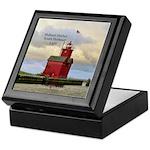 Holland Harbor South Pierhead Light Keepsake Box