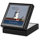 Harbor Beach Lighthouse Keepsake Box