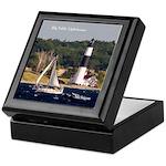 Big Sable Lighthouse & Boat Keepsake Box