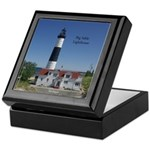 Big Sable Lighthouse Keepsake Box