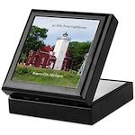 40 Mile Point Ligthouse Keepsake Box