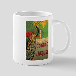 Vintage Cognac Wine Poster Mug