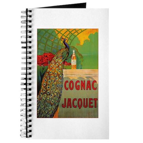 Vintage Cognac Wine Poster Journal