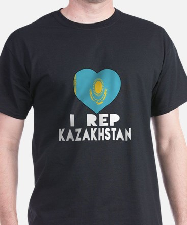 I Rep Kazakhstan Country T-Shirt