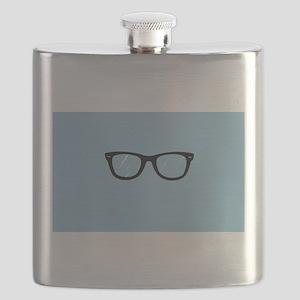 Adorkable Glasses Flask