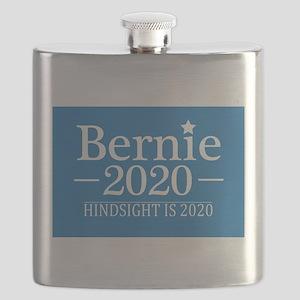 Bernie Sanders Hindsight is 2020 Flask