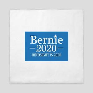 Bernie Sanders Hindsight is 2020 Queen Duvet