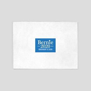 Bernie Sanders Hindsight is 2020 5'x7'Area Rug