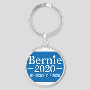 Bernie Sanders Hindsight is 2020 Keychains