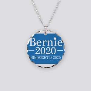 Bernie Sanders Hindsight is Necklace Circle Charm