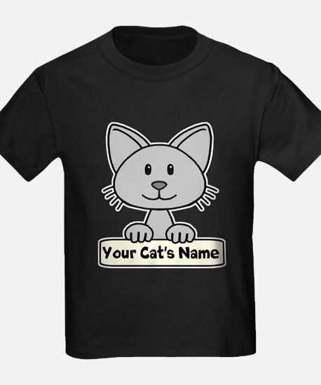 Personalized Gray Cat T