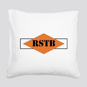 NCO, Regimental Special Troop Square Canvas Pillow