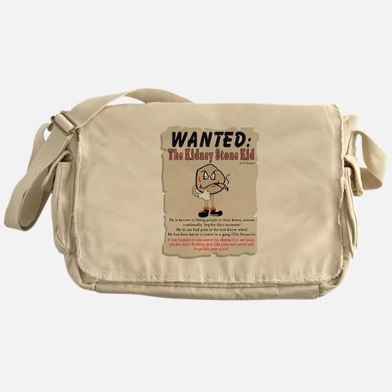 Kidney Stone Kid Messenger Bag