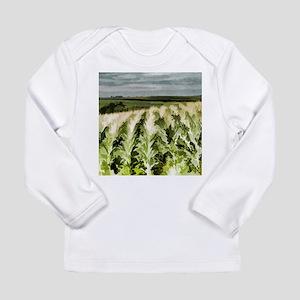 Iowa Corn Field Long Sleeve Infant T-Shirt