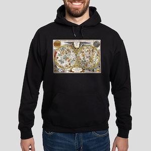 Vintage Constellations Map Sweatshirt