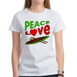 Peace Love Canoe Women's T-Shirt