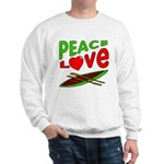 Peace Love Canoe Sweatshirt