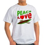Peace Love Canoe Light T-Shirt
