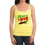 Peace Love Canoe Jr. Spaghetti Tank