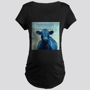 Angus it's an Angus Thing Maternity T-Shirt