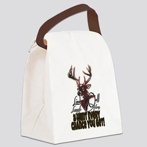 Hunt every chance you get Canvas Lunch Bag