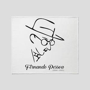 Fernando Pessoa Throw Blanket