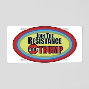 Resist Trump Aluminum License Plate