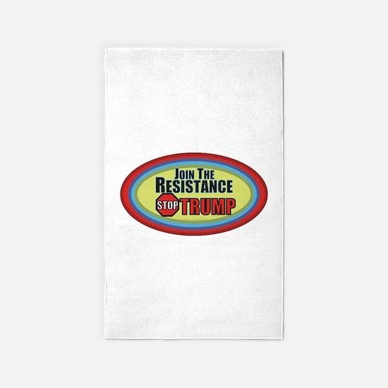Resist Trump Area Rug