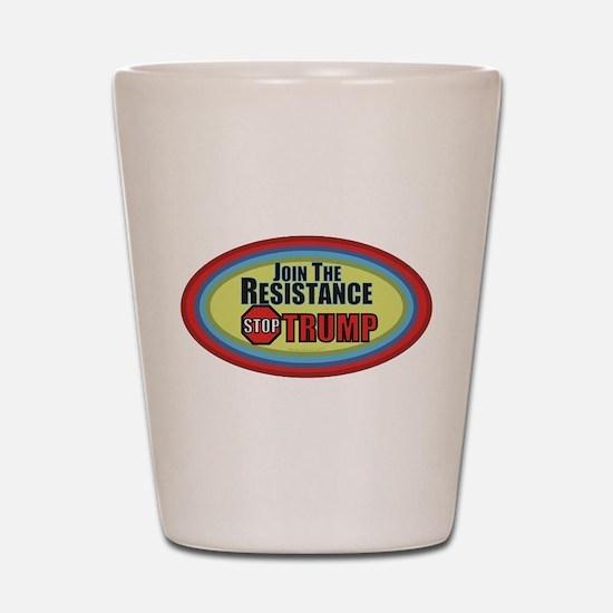 Resist Trump Shot Glass