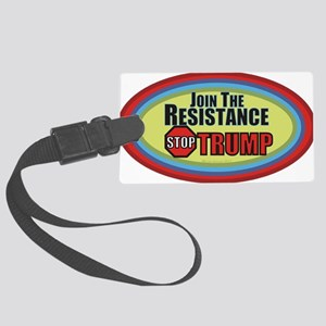 Resist Trump Large Luggage Tag